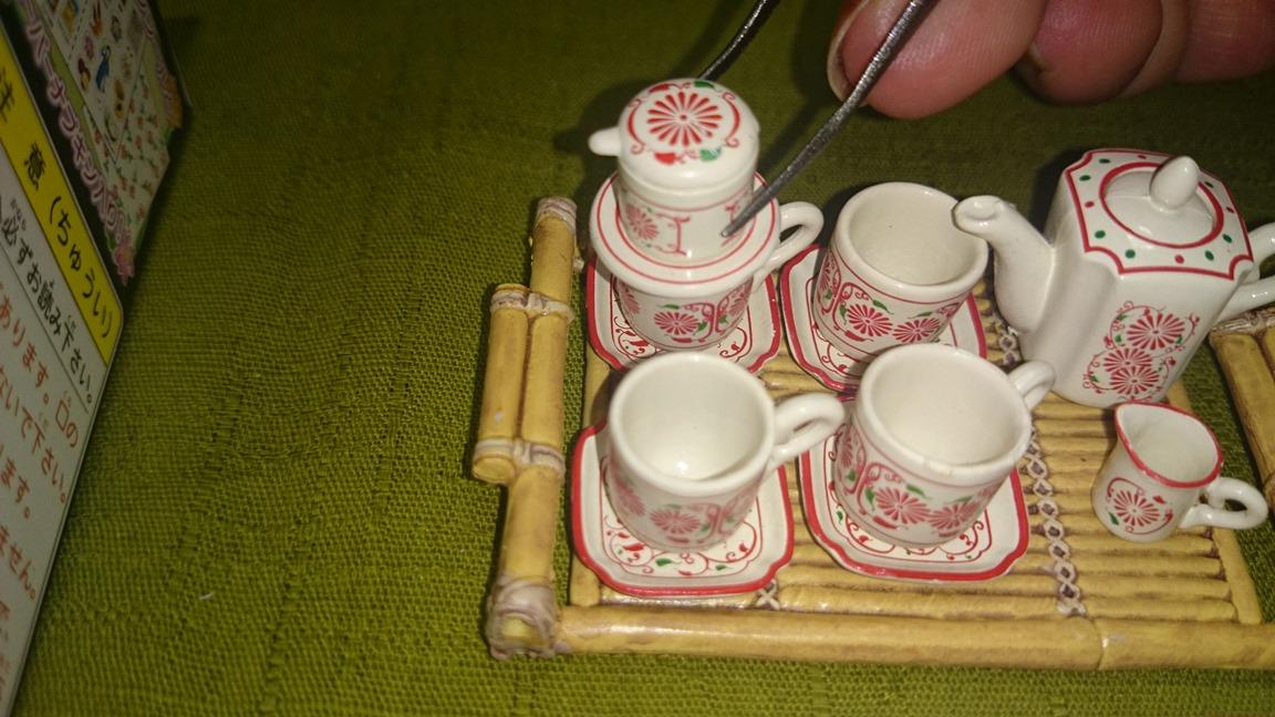 1-6、1167(コーヒーカップにフィルターセット)魅惑のバッチャン焼き30ok