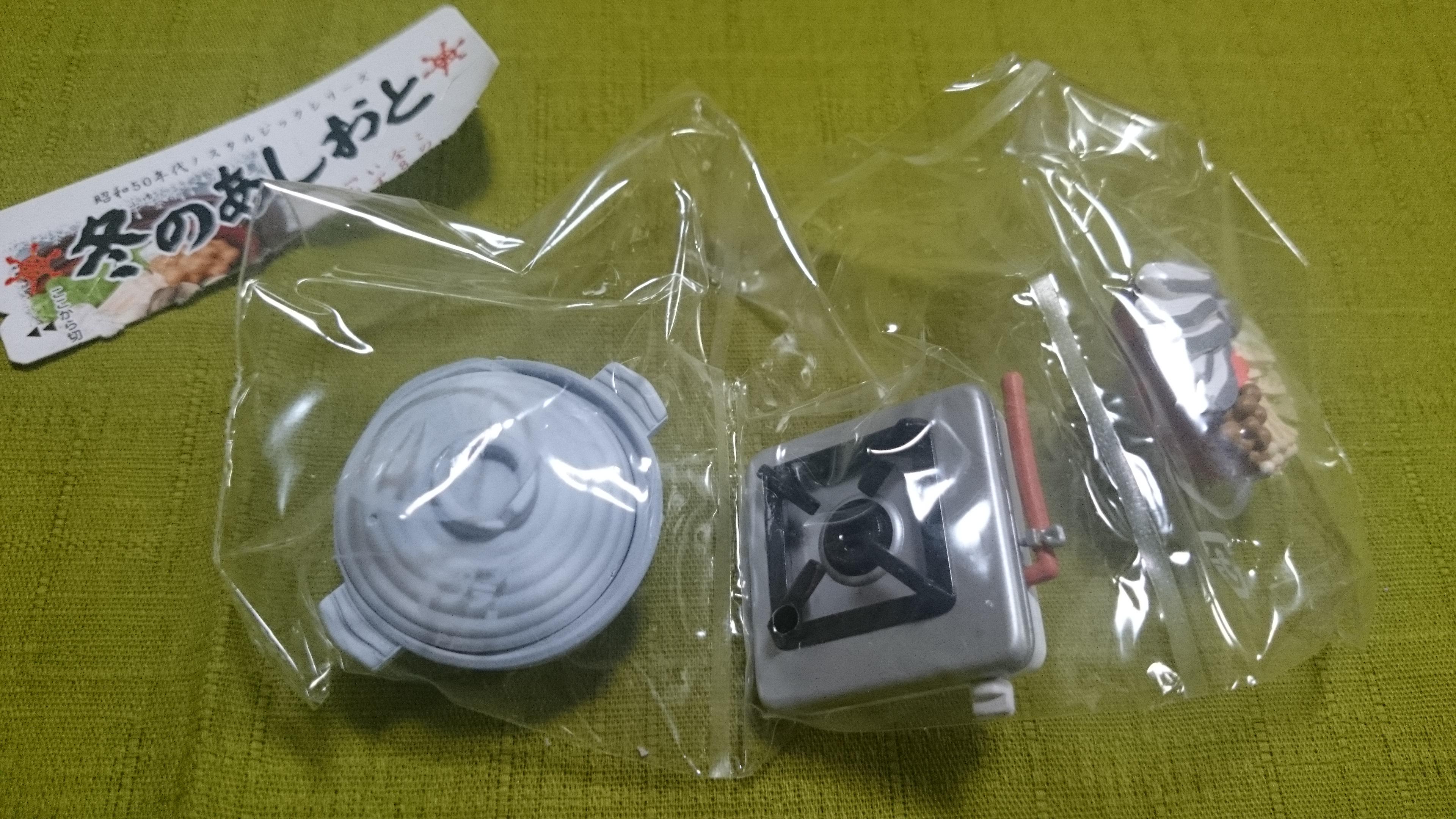 12、鱈ちり鍋/冬のあしおと(株メガハウス)昭和50年代ノスタルジックシリーズ全8種