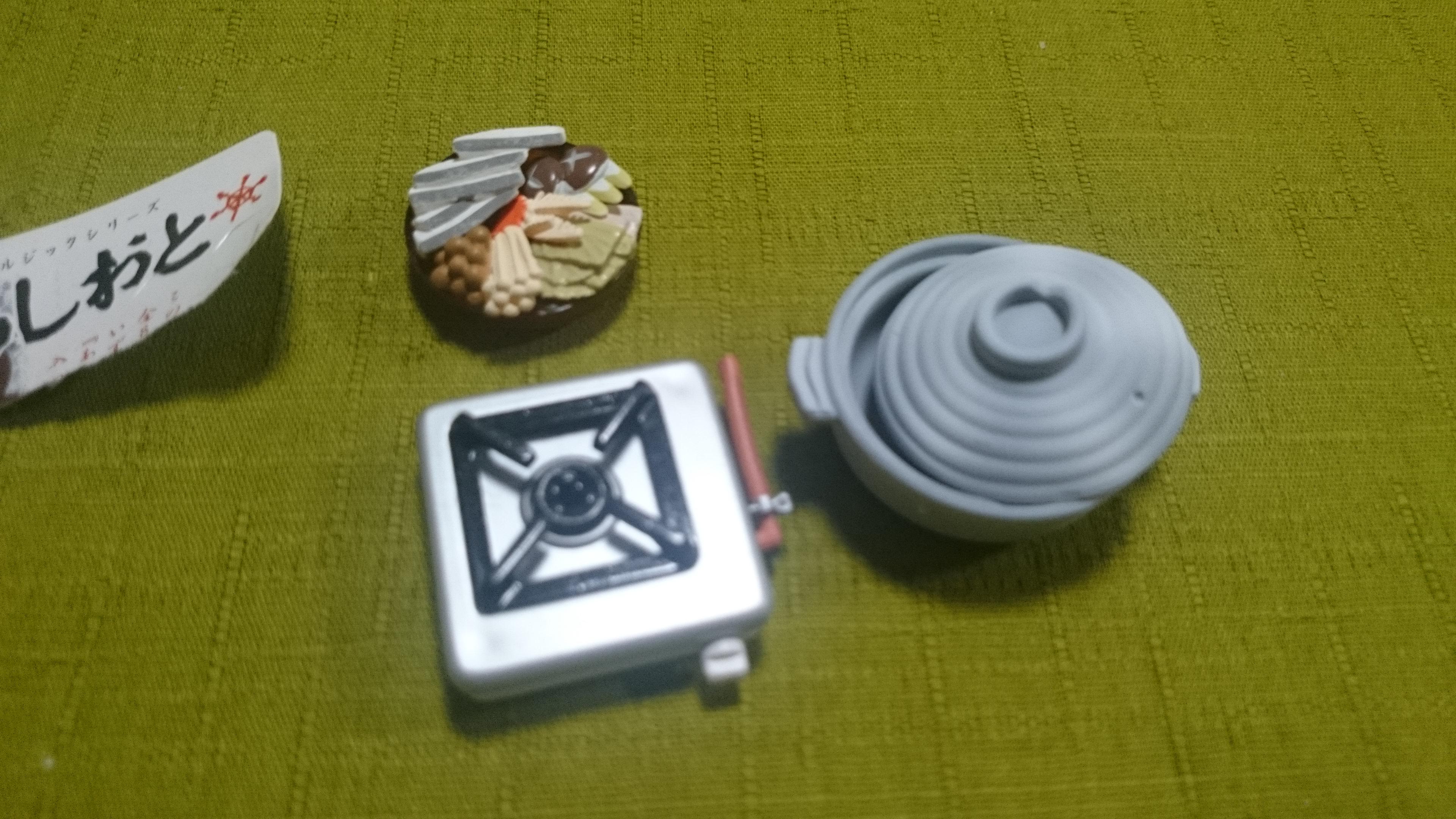 13、鱈ちり鍋/冬のあしおと(株メガハウス)昭和50年代ノスタルジックシリーズ全8種