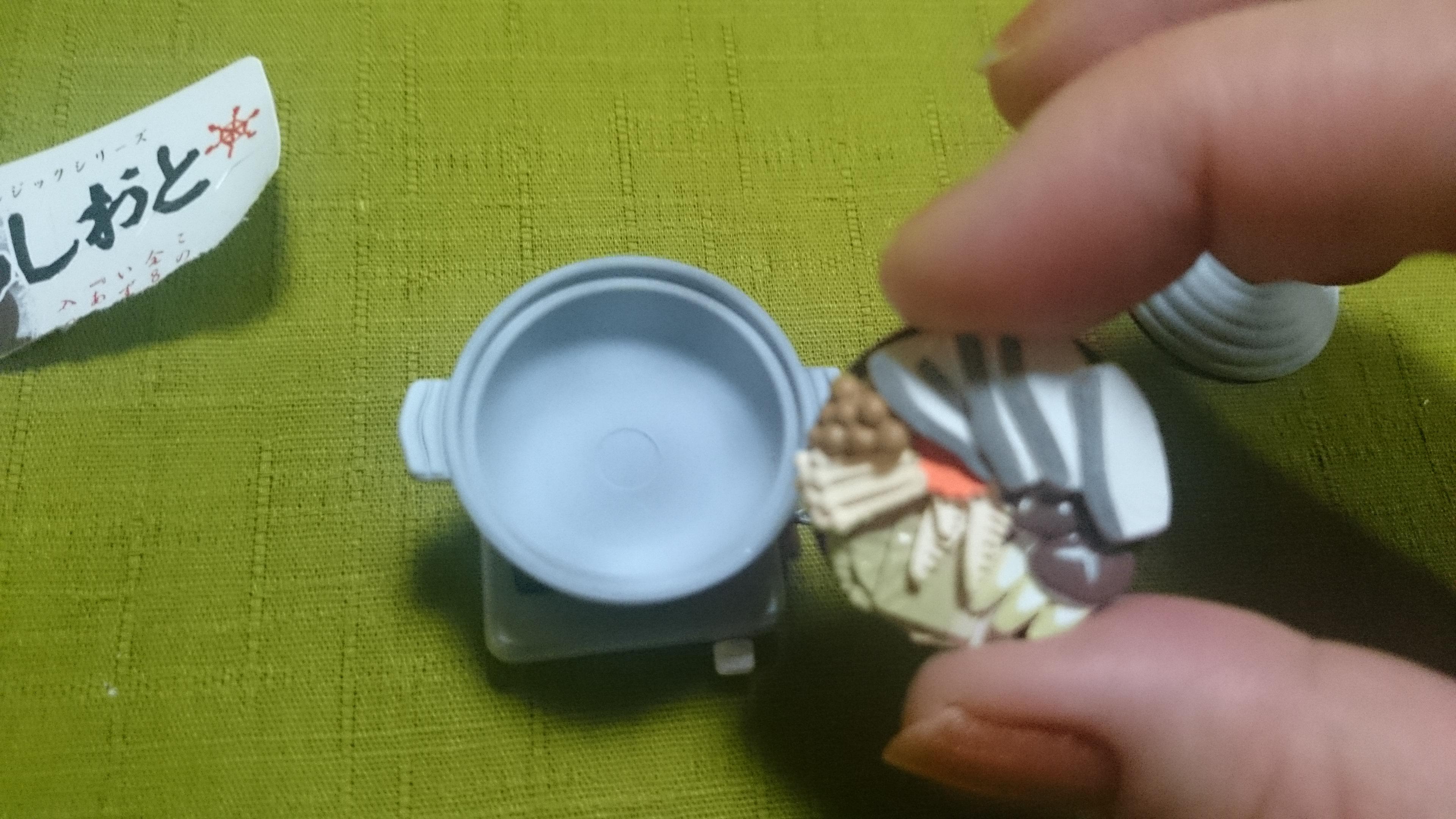 15、鱈ちり鍋/冬のあしおと(株メガハウス)昭和50年代ノスタルジックシリーズ全8種