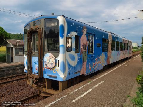のと鉄道花咲くいろはラッピング列車の画像7