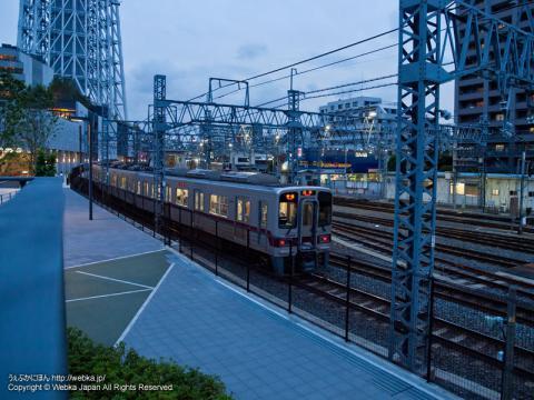東武伊勢崎線 東武30000系電車