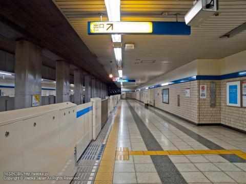 舞岡駅のホーム