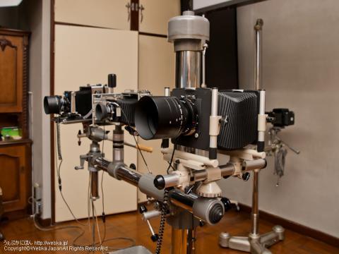 シノゴ(4×5in判)フィルムを使う大判カメラ