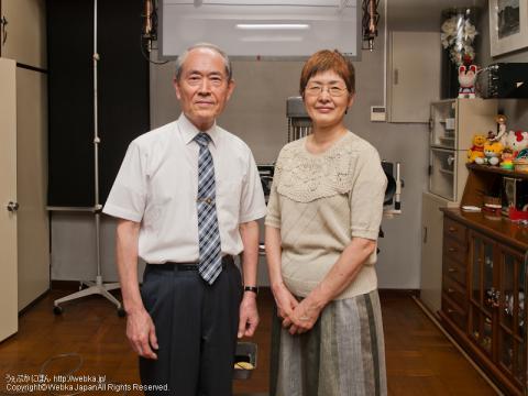石川写真館<br />のご夫婦