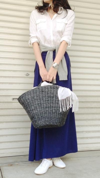 このマキシスカート、しっかり ...