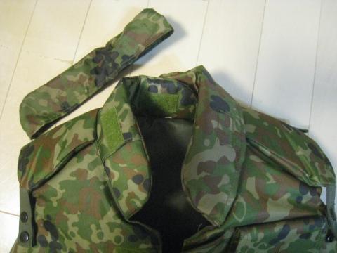 防弾チョッキ初期型 (3)