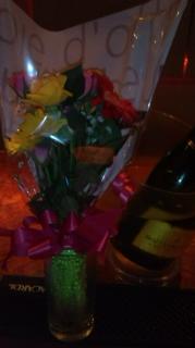 Tちゃんからいただいたお花