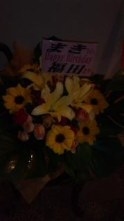 Fちゃんからいただいたお花