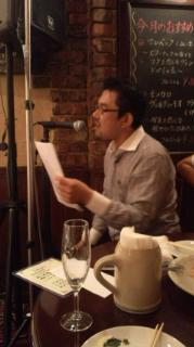 歌うOWNER 中山さん