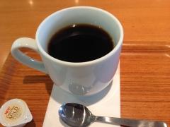 熊本駅パティオのコーヒー