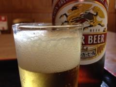 山本屋食堂:ビール
