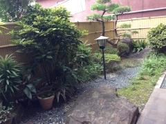 山本屋食堂:中庭