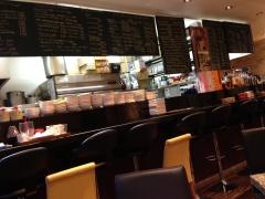 CAFE de 水道町:カウンター
