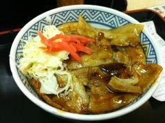 吉野家:美味しかった豚丼