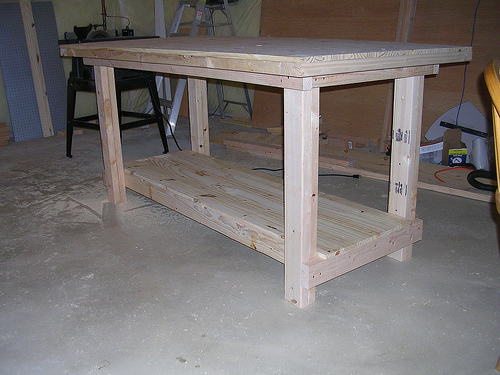 Remember that a sound and sturdy workbench will have a direct impact