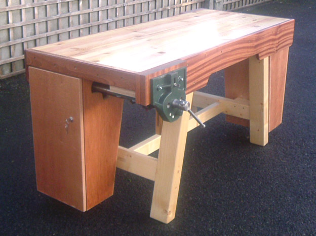 school woodwork bench