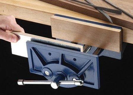 Popular Woodworking Bench Vise Installation