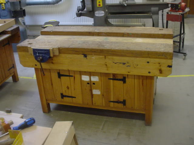 woodworking bench lumber