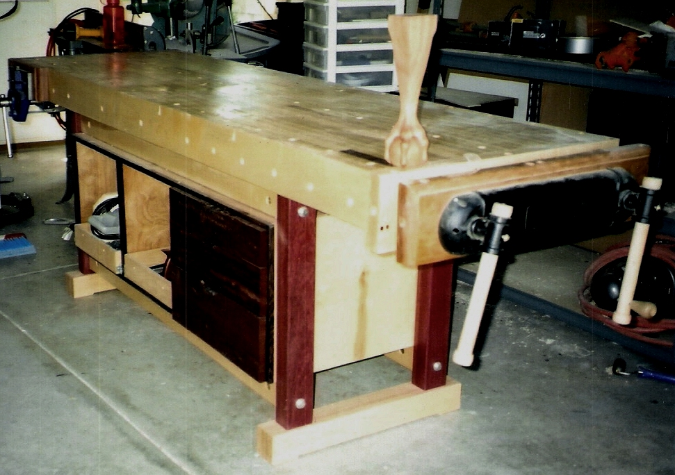 Woodworking Bench Ideas Part - 26: Elegant Woodworking Woodshop Bench Plans PDF Free Download