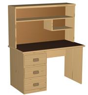 student desk design plans