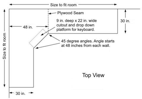 Corner Desk Design Plans