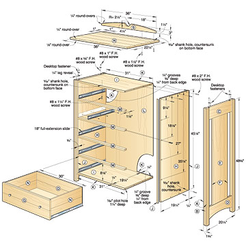 plans for a dresser