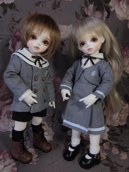 蕗と宇大 付属幼稚園 制服 2