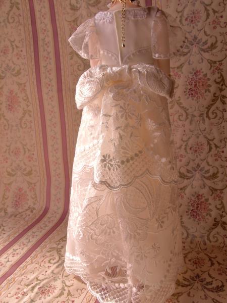 白レースドレス 3