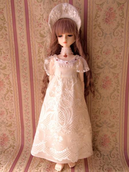 白レースドレス 2