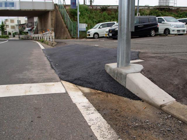 駐車場スロープ6