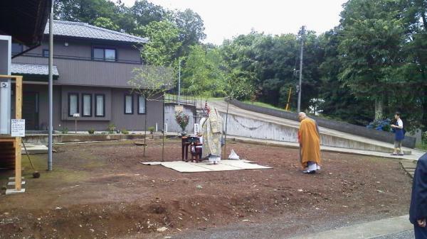 宗関寺地鎮祭