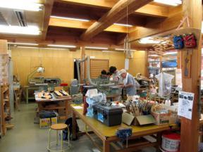 木工芸体験施設