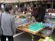 農産物の販売テント