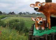 蒜山とジャージー牛(のお人形)w