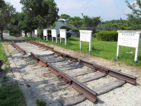 岡山県南部の鉄道に使われている線路