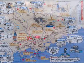 岡山県内の横溝正史作品ゆかりのスポット