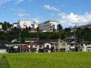 津山高専 遠景