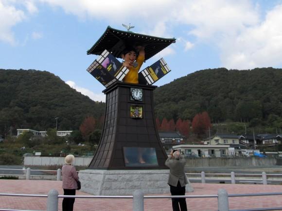 三穂太郎のからくり時計