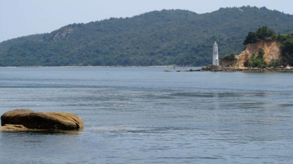 唐琴の瀬戸と前島