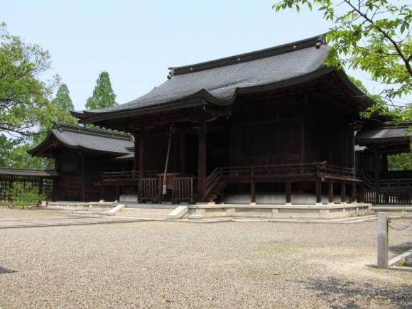作楽神社拝殿