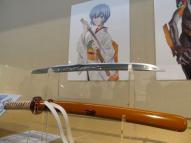 綾波レイをイメージして造られた刀剣