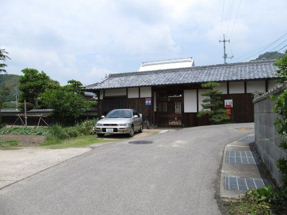 赤磐市殿谷の簡易郵便局