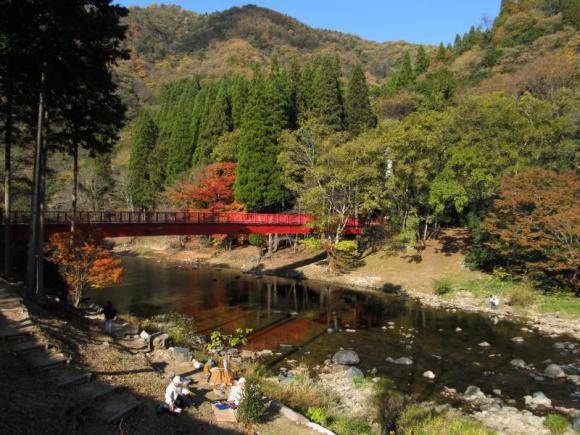 宇甘川と赤橋