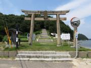 牛窓神社参道入り口の鳥居