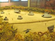 沼遺跡の再現ジオラマ