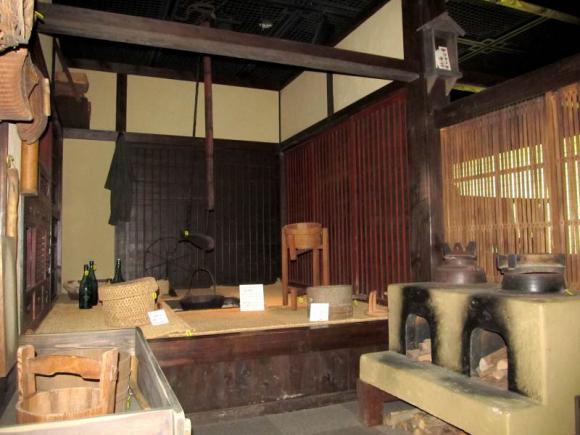 展示室2 かつての農家の暮らしの再現