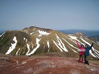 阿寒富士頂上