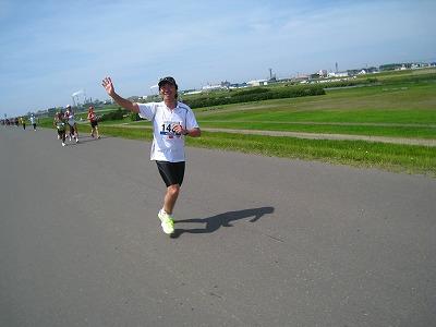 マラソンランナーtake