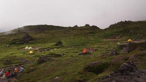 南沼キャンプ地